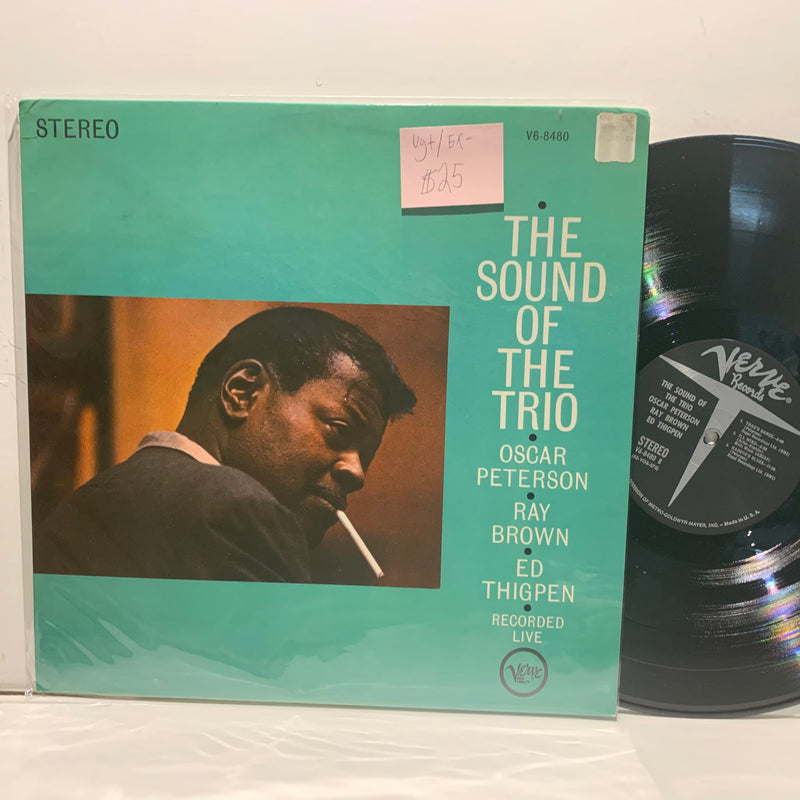 Oscar Peterson Ray Brown Ed Thigpen- The Sound Of The Trio- Verve Stereo Jazz LP