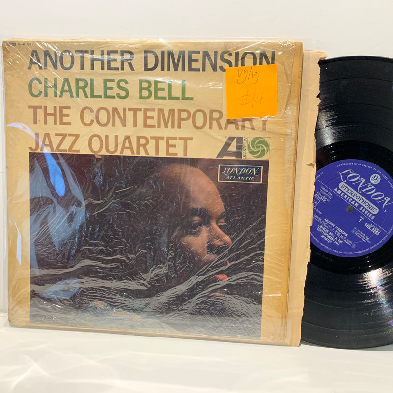 Charles Bell Contemporary Jazz Quartet- Another Dimension- London UK Jazz LP
