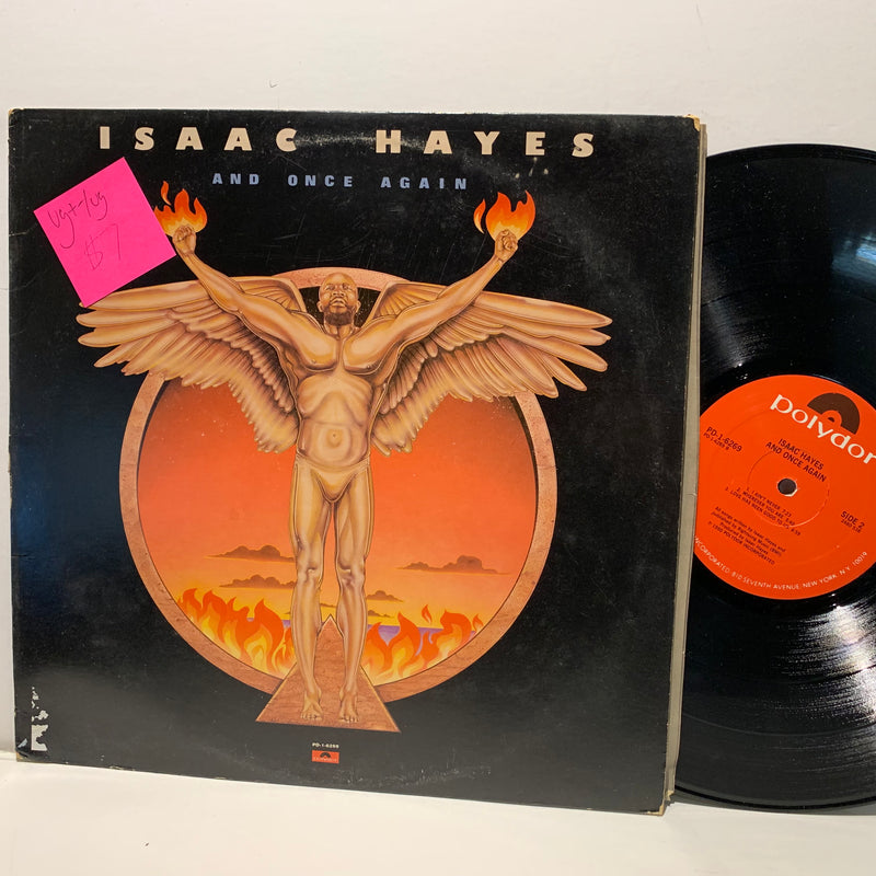Isaac Hayes- And Once Again- Polydor Soul LP- VG+-/VG