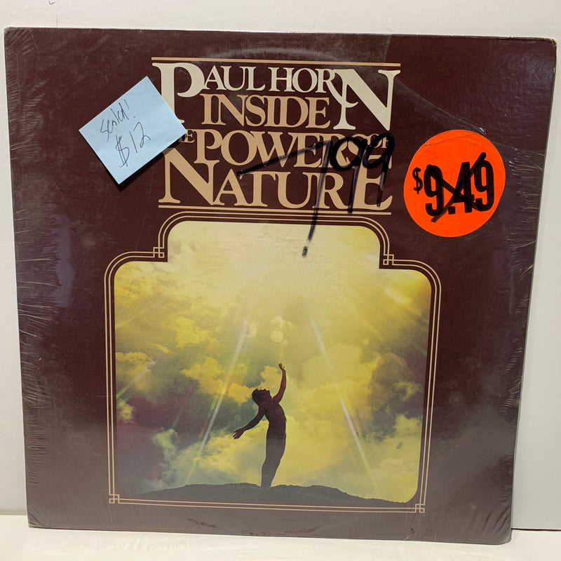Paul Horn- Inside The Powers Of Nature- Free Jazz Electronic LP- Golden Flute SEALED