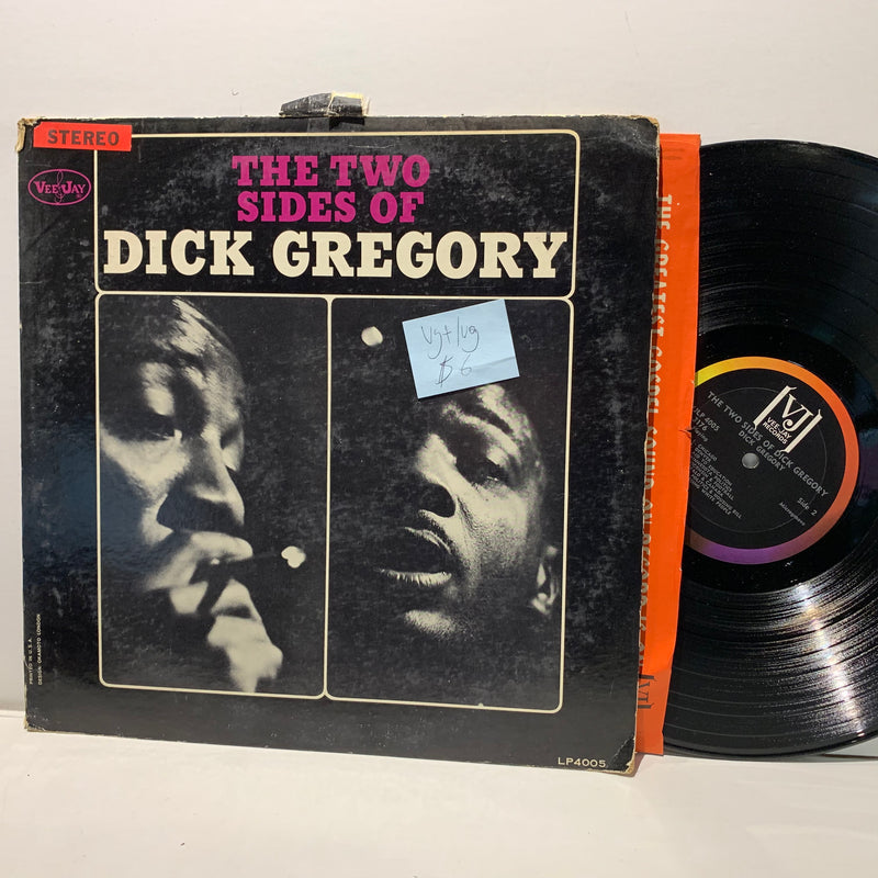 Dick Gregory- The Two Sides Of- Vee Jay Jazz LP- VG+/VG