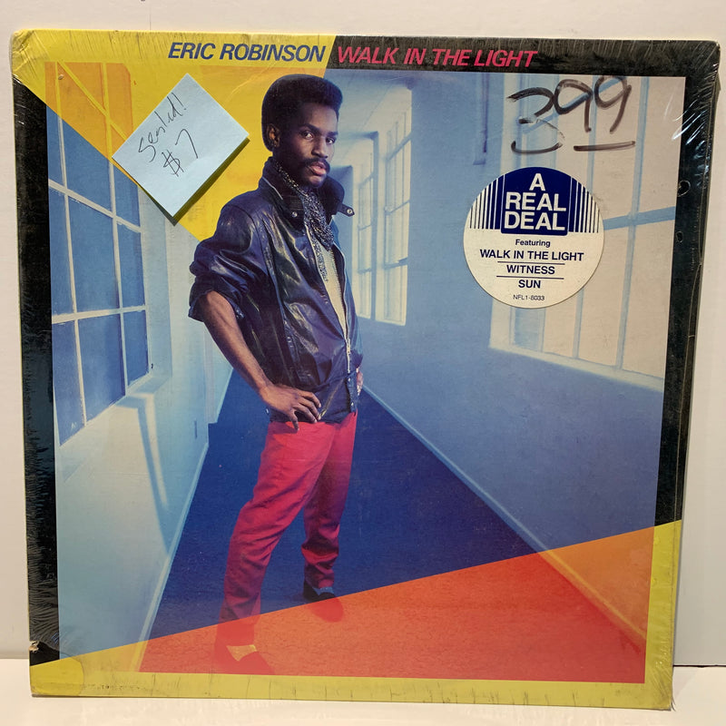 Eric Robinson- Walk In The Light- Disco Soul LP- SEALED!