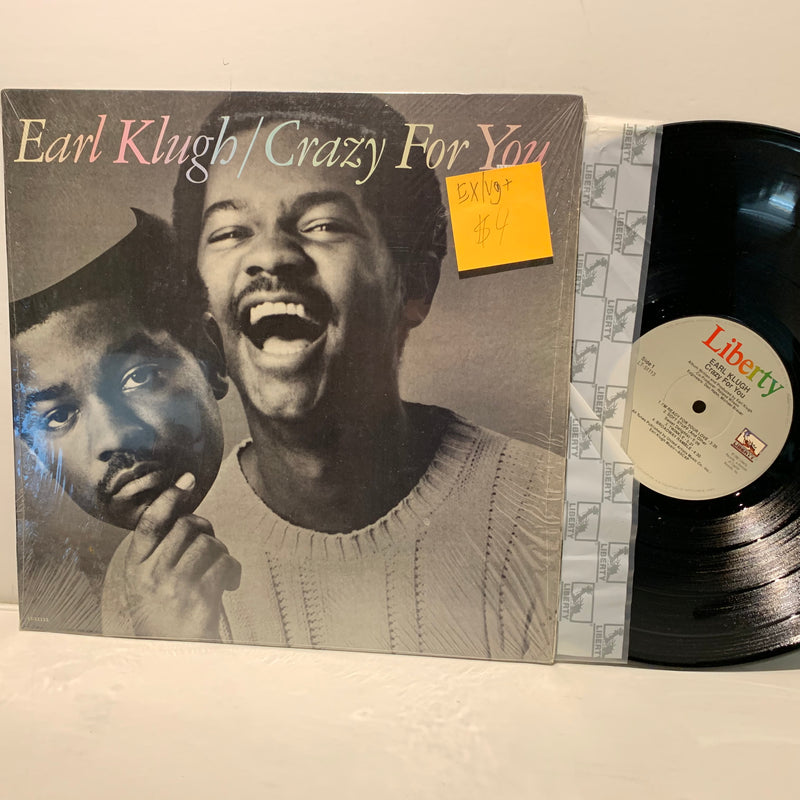 Earl Klugh- Crazy For You- Liberty Jazz Fusion LP- EX/VG+