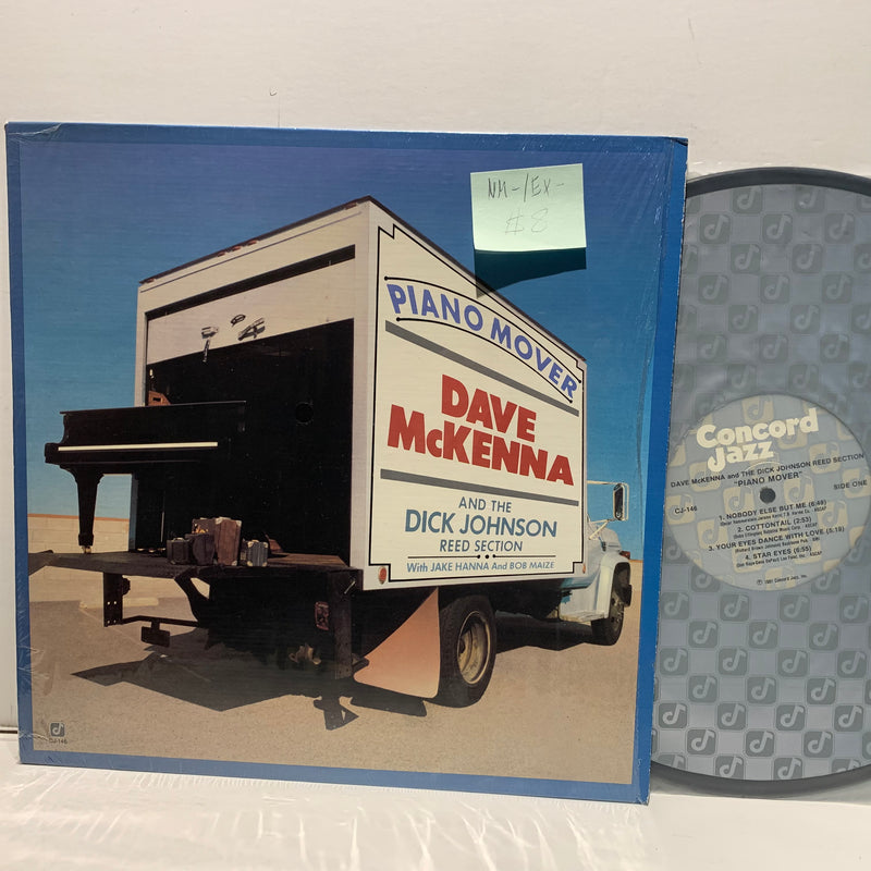 Dave McKenna- Piano Mover- Concord Jazz LP- NM-/EX-