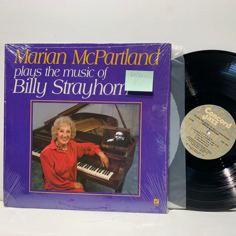Marian McPartland- Plays Billy Strayhorn- Concord Jazz LP- EX/EX-
