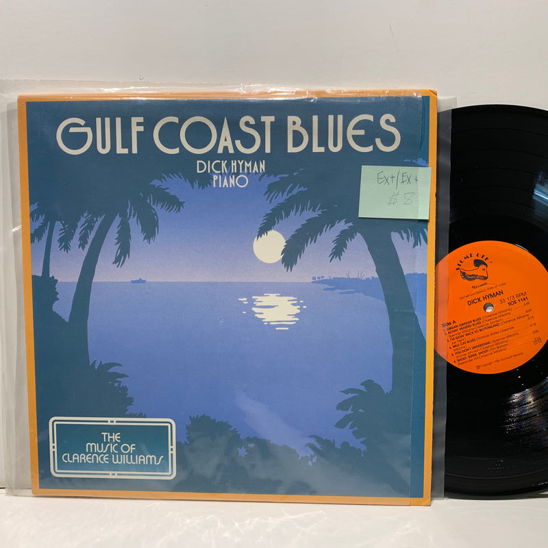 Dick Hyman Piano- Gulf Coast Blues Music Of Clarence Williams- Stomp Off Jazz LP
