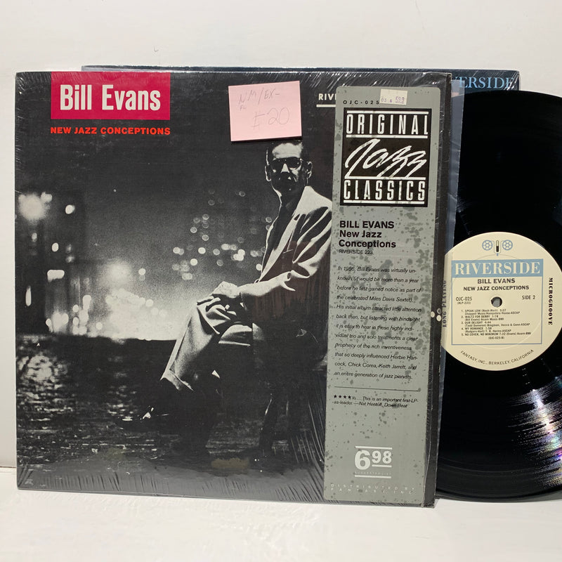 Bill Evans- New Jazz Conceptions- Riverside Original Jazz Classics LP- NM/EX-