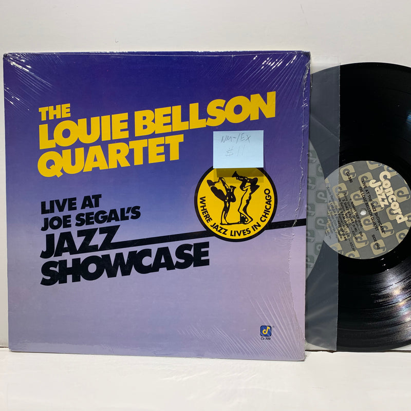 Louie Bellson Quartet- Live At Joe Segal's Jazz Showcase- Concord Jazz LP- NM-/EX