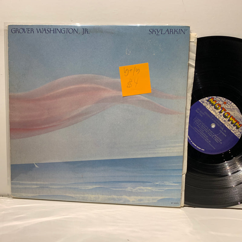 Grover Washington Jr- Skylarkin- Motown Soul Jazz LP- VG+/VG