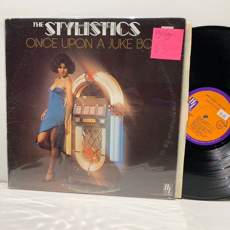 The Stylistics- Once Upon A Juke Box- H&L Records Soul LP- VG+/VG-