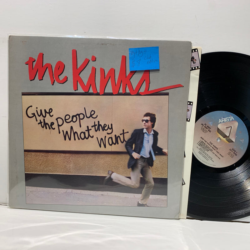 The Kinks- Give The People What They Want- Arista Rock LP- VG+ Club Edition