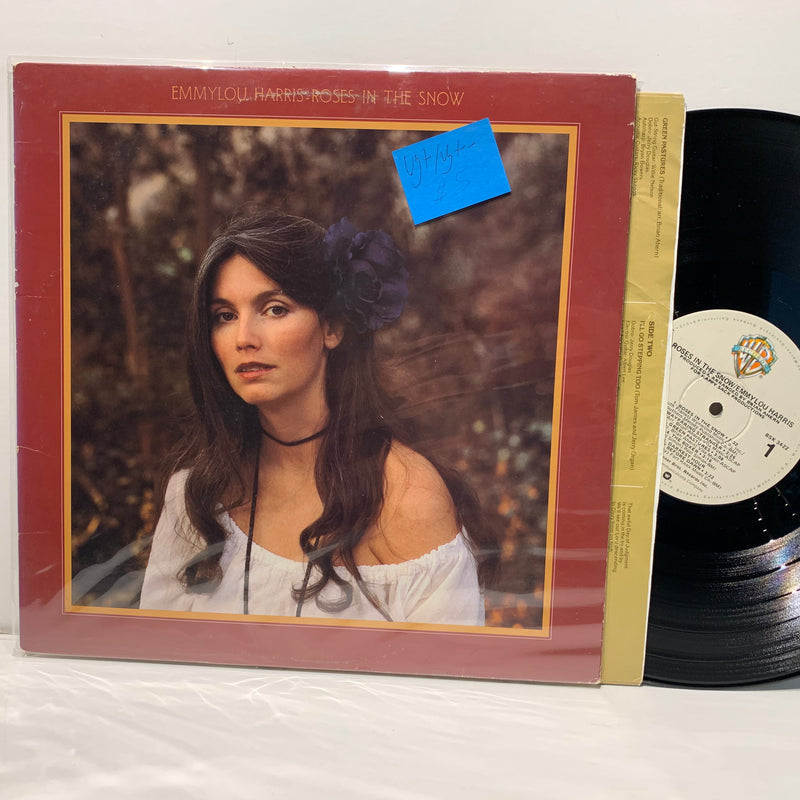 Emmylou Harris- Roses In The Snow- Warner Bros- Country Rock LP- VG+/VG+-