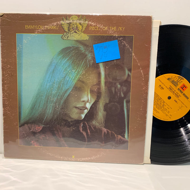 Emmylou Harris- Pieces Of The Sky- Reprise Country Folk LP- VG+/VG+-