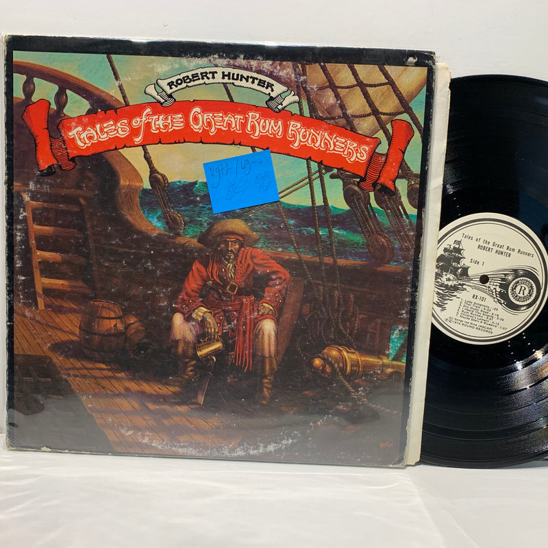 Robert Hunter- Tales Of The Great Rum Runners- Round Folk Psych LP VG++/G++