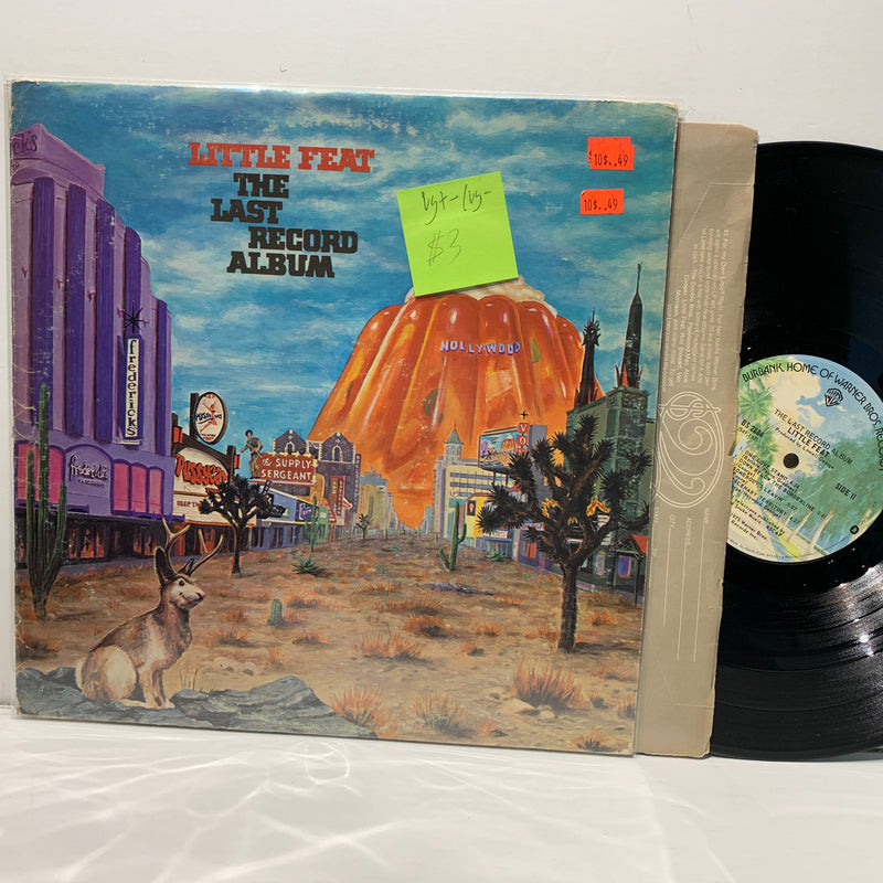 Little Feat- The Last Record Album- Warner Bros Southern Rock LP- VG+-/VG-
