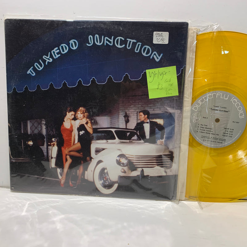 Tuxedo Junction- Butterfly Records Latin Disco LP- Gold Vinyl- VG+/VG+-