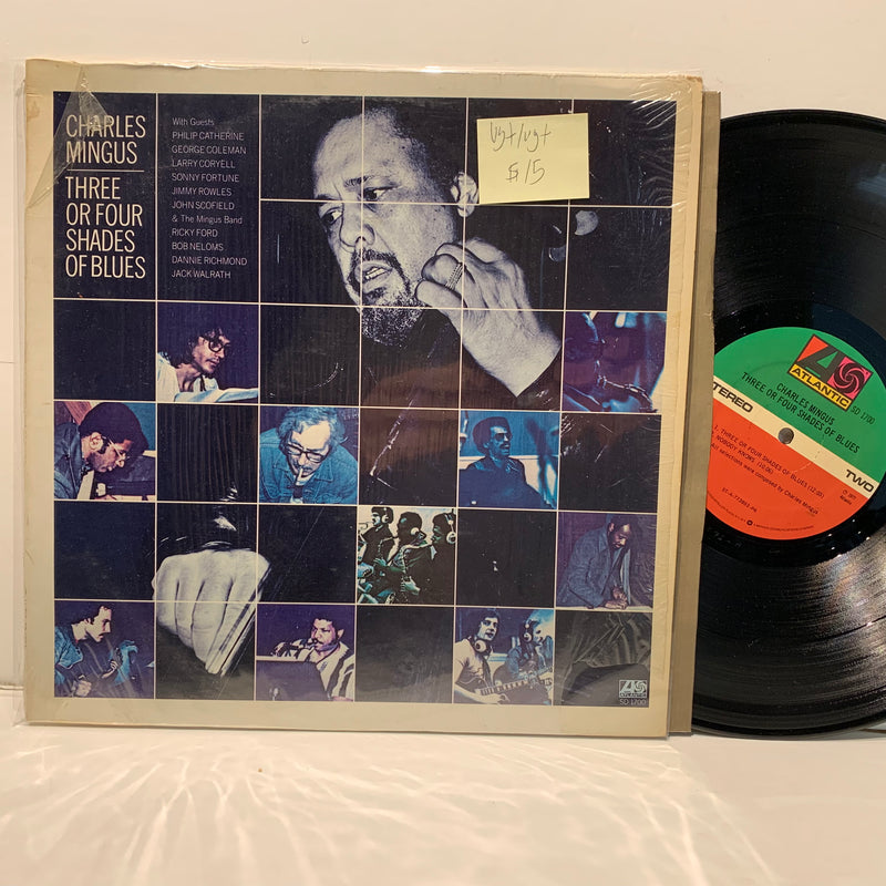 Charles Mingus- Three Or Four Shades Of Blues- Atlantic Jazz LP- VG+/VG+