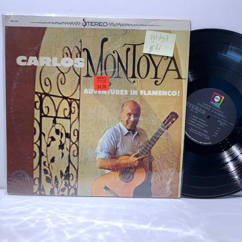 Carlos Montoya- Adventures In Flamenco- ABC Latin Folk LP- VG+/VG+