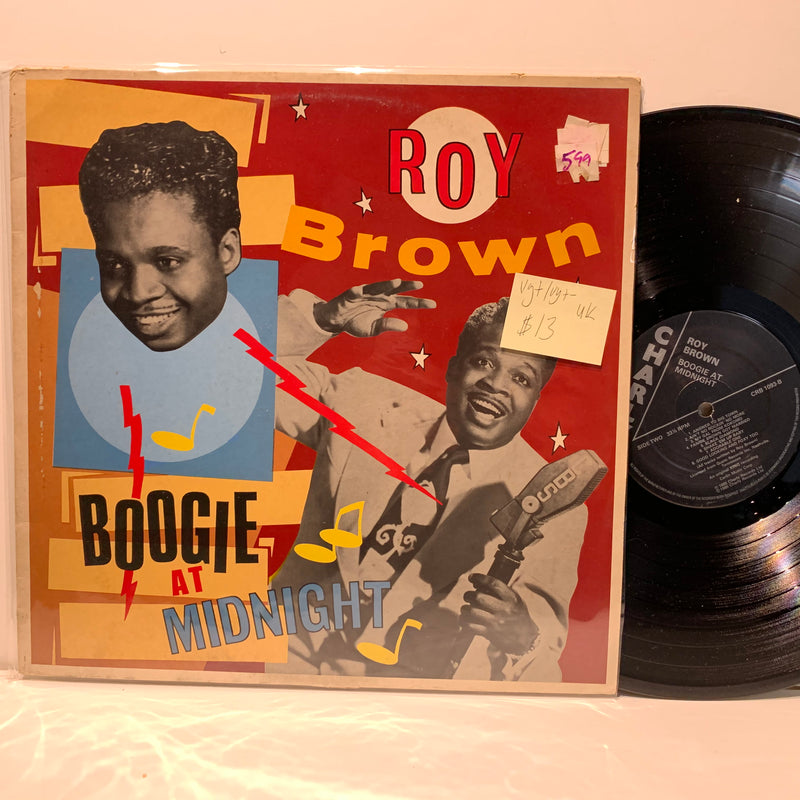 Roy Brown- Boogie At Midnight- Charly R&B Blues LP- VG+/VG+ UK Press
