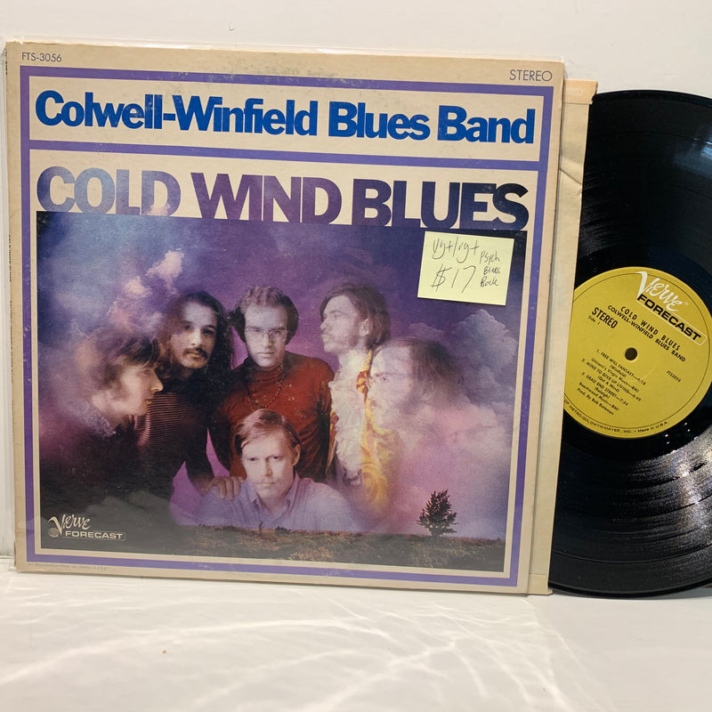 Colwell-Winfield Blues Band- Cold Wind Blues- Verve Forecast Psych Blues Rock