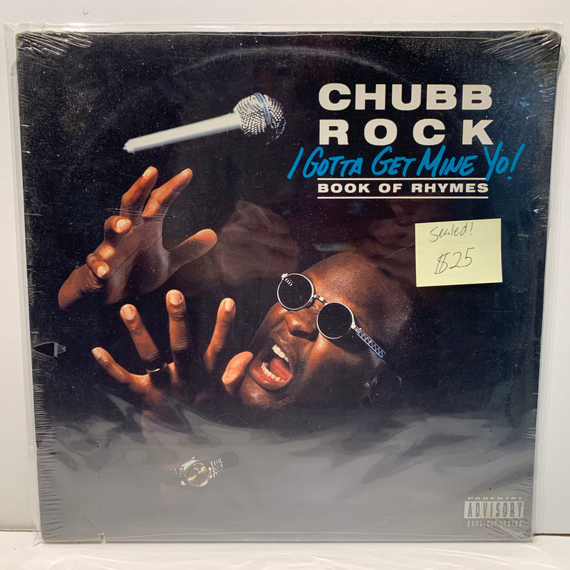 Chubb Rock- I Gotta Get Mine Yo- Book Of Rhymes- Select Hip Hop LP- SEALED
