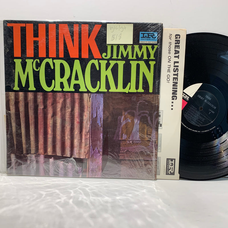 Jimmy McCracklin- Think- Imperial Soul R&B Mono LP- VG++/VG+
