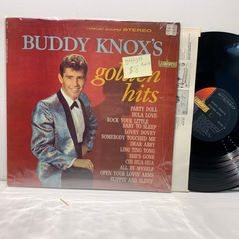 Buddy Knox Golden Hits- Liberty Rockabilly LP- VG++/VG++