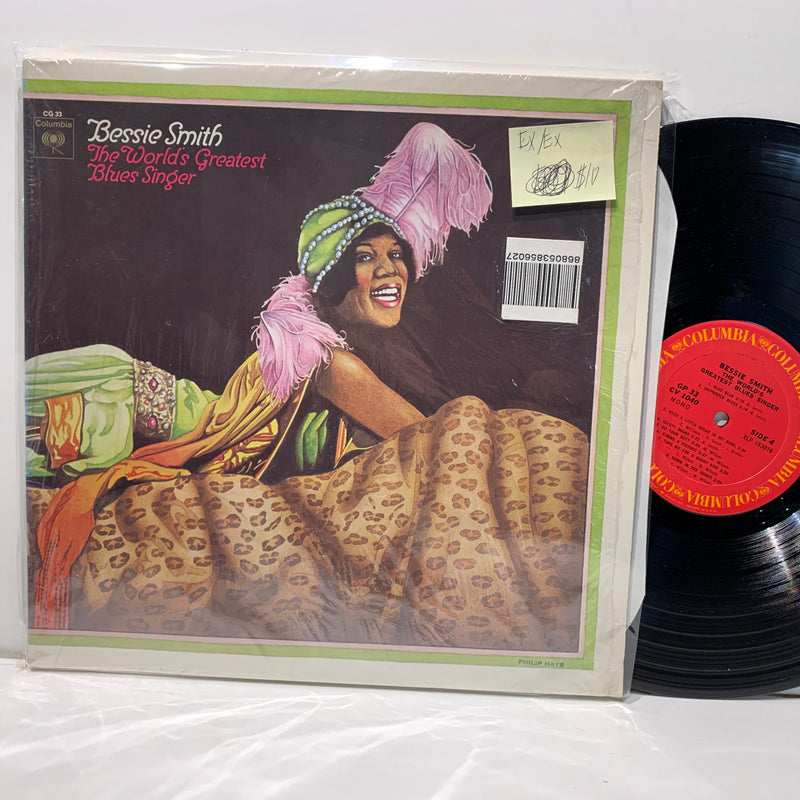 Bessie Smith- World's Greatest blues Singer- Columbia Blues LP Comp- EX/EX