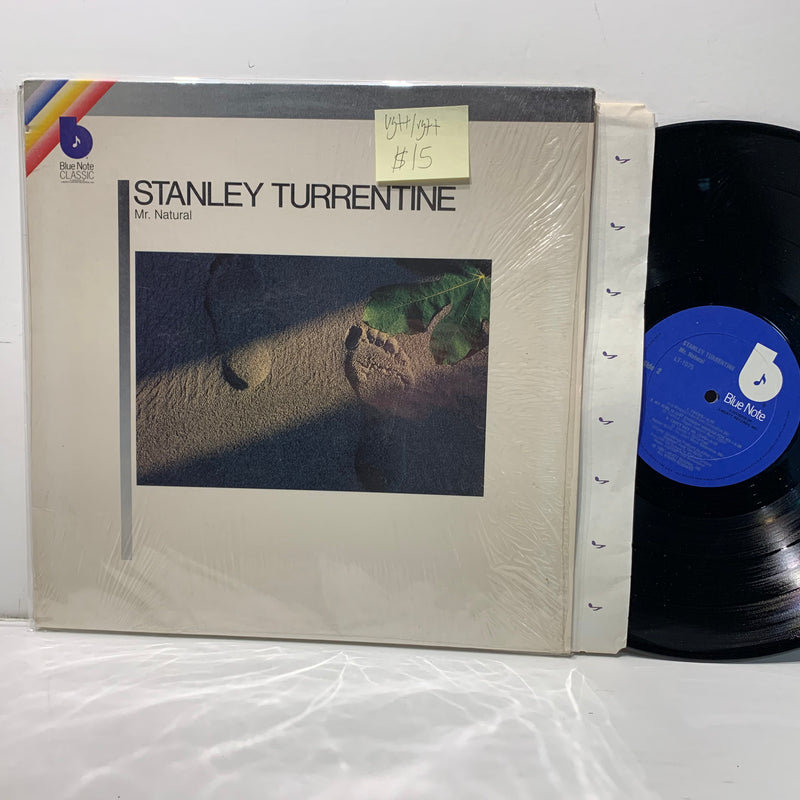 Stanley Turrentine- Mr Natural- Blue Note Jazz LP- VG++/VG++