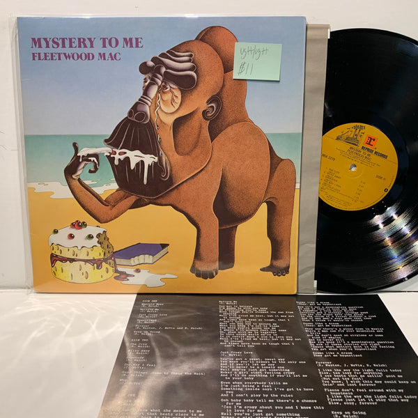 Fleetwood Mac- Mystery To Me- Reprise Rock LP- VG++/VG++