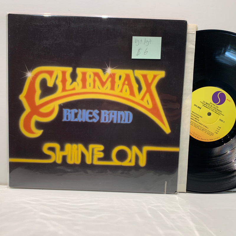 Climax Blues Band- Shine On- Sire Blues Rock LP-VG+/VG+