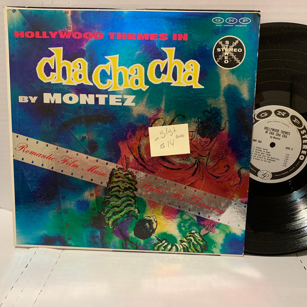 Bobby Montez Hollywood Themes In Cha Cha Cha- GNP VG/VG+ NF Latin Record