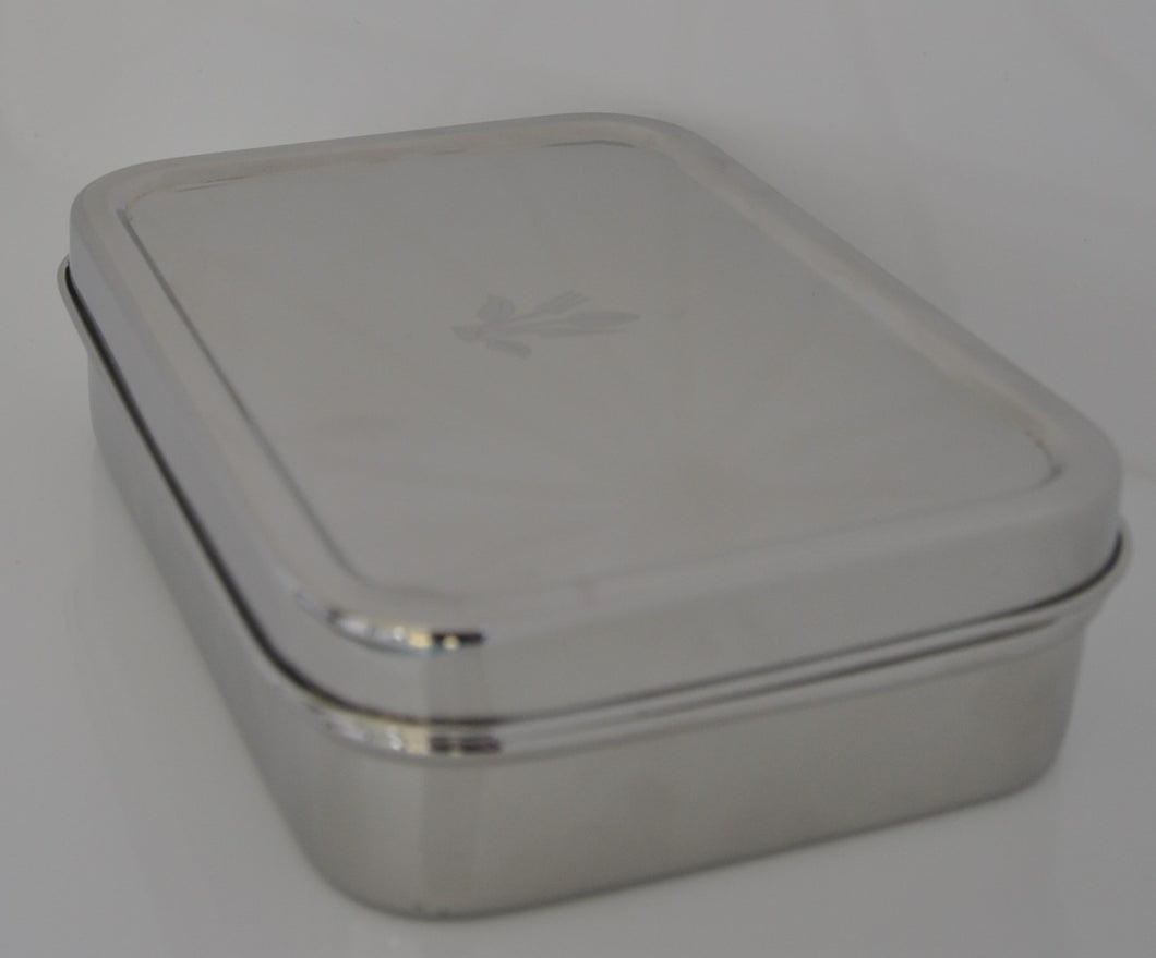 Rectangle Stainless Steel Lunch Box