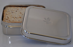 Square Stainless Steel Lunch Box