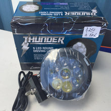Load image into Gallery viewer, Thunder - 9 Led Driving Light Round