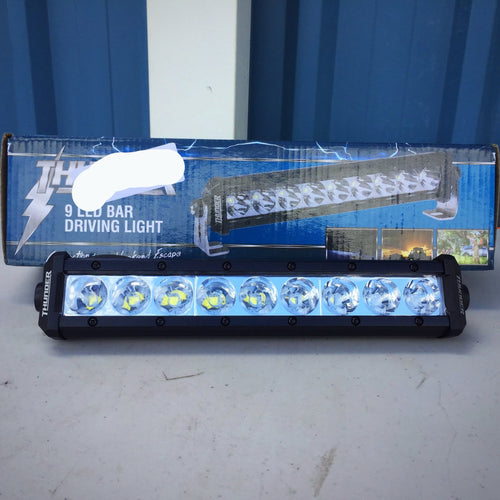 Thunder - 9 Led Driving Light Bar