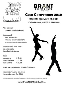 BSC - Club Competition - STAR & SENIOR SKATERS