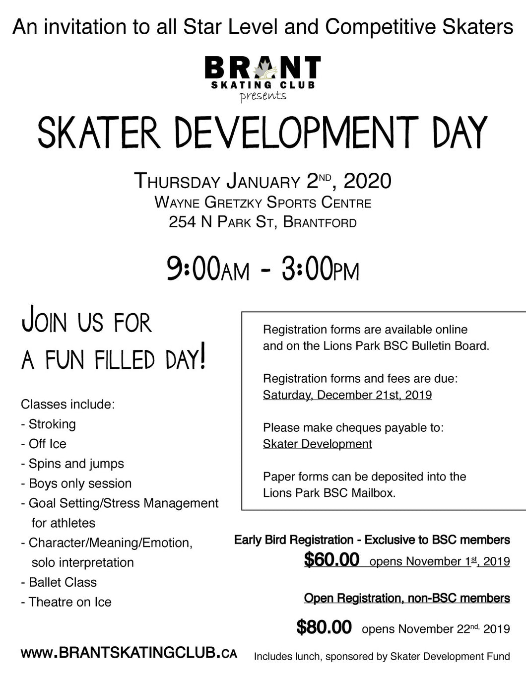 BSC - Skater Development - Development Day Event
