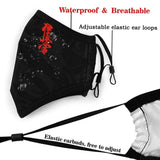 mask kyokushin karaté for protection, changeable filter - kyokushin-shop