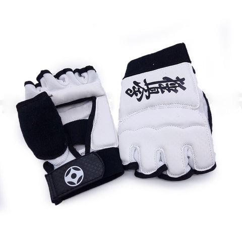Kyokushin Karate Fighting Hand Protector with kanku & kanji - kyokushin-shop