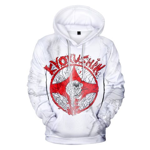 3D Hooded kyokushin karaté kyokushinkai Sweatshirt - karate kyokushin shop