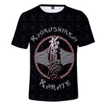 Suitable Fashion kyokushin Casual Sleeve 3D T shirt  3D t shirt - karate kyokushin shop