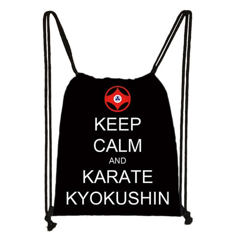 Karate kyokushin small bag causal backpack - karate kyokushin shop