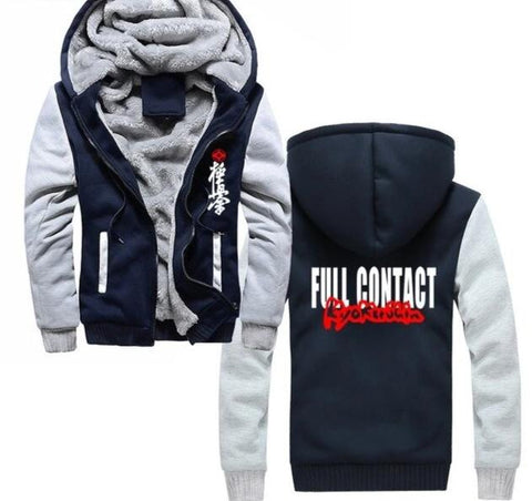 Kyokushin Karate   Hoodie Sweatshirt Jacket - karate kyokushin shop