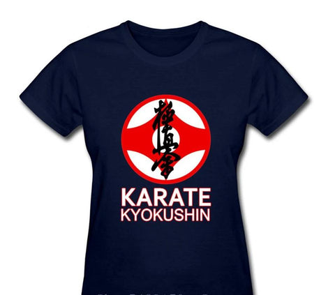 Short Sleeve T Shirt Women  Karate Kyokushin - kyokushin-shop