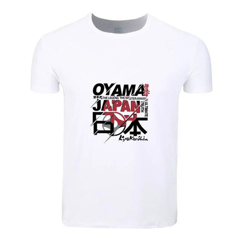 Kyokushin-Karate T-Shirt Short Sleeve Men Women and kids - karate kyokushin shop
