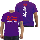 Kyokushin 2 Sides T Shirt Men - karate kyokushin shop