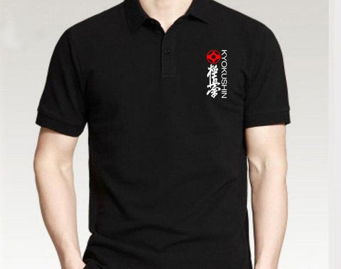 Kyokushin Karate polo tee shirt Short Sleeves - karate kyokushin shop