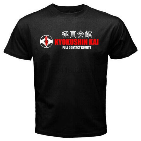 kyokushinkai full contact kumite  - Custom Men  T-Shirt - karate kyokushin shop