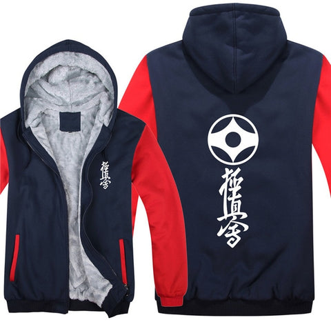 Kyokushin Karate  Pullover  Men Coat  Sweatshirts Hoody bicolored - karate kyokushin shop